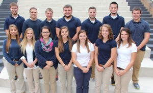 Tamaqua Homecoming Court, Tamaqua Area High School, Tamaqua, 10-13-2015 (1)