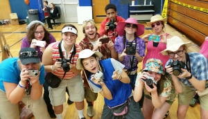 Tourists, Safe Trick Or Treat Night, High School, Tamaqua, 10-29-2015