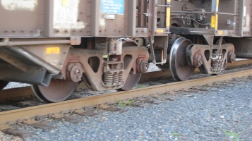 Train Passing in front of Tamaqua Train Station, Tamaqua, 9-15-2015 (14)