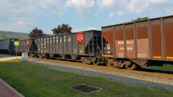 Train Through Tamaqua, 9-1-2015 (6)