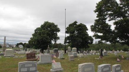 Volunteers Cleaning GAR Cemetery, Summit Hill, 9-13-2015 (23)