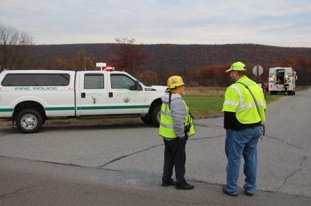 Water Rescue Response, Tuscarora State Park, Barnesville, 10-31-2015 (1)