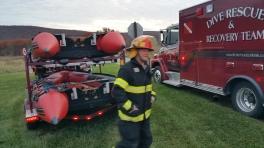 Water Rescue Response, Tuscarora State Park, Barnesville, 10-31-2015 (100)