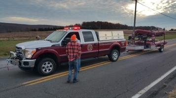 Water Rescue Response, Tuscarora State Park, Barnesville, 10-31-2015 (102)