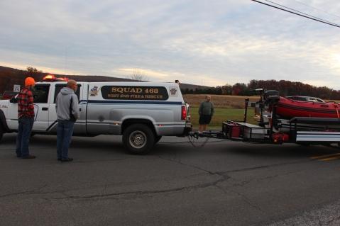 Water Rescue Response, Tuscarora State Park, Barnesville, 10-31-2015 (16)