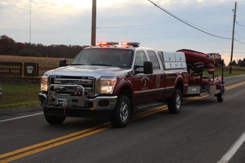 Water Rescue Response, Tuscarora State Park, Barnesville, 10-31-2015 (17)