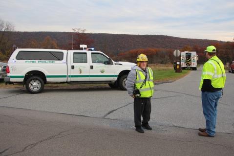 Water Rescue Response, Tuscarora State Park, Barnesville, 10-31-2015 (2)