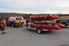 Water Rescue Response, Tuscarora State Park, Barnesville, 10-31-2015 (24)