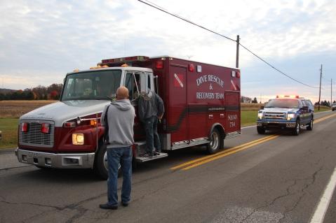 Water Rescue Response, Tuscarora State Park, Barnesville, 10-31-2015 (28)