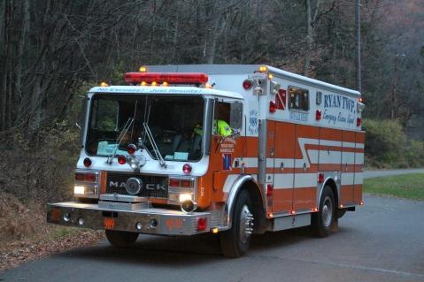 Water Rescue Response, Tuscarora State Park, Barnesville, 10-31-2015 (63)