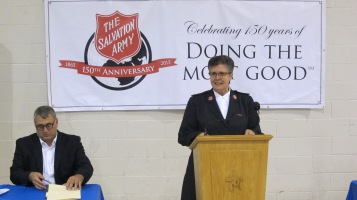 100-Year Anniversary Celebration, Tamaqua Salvation Army, Tamaqua, 10-1-2015 (10)