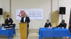 100-Year Anniversary Celebration, Tamaqua Salvation Army, Tamaqua, 10-1-2015 (122)