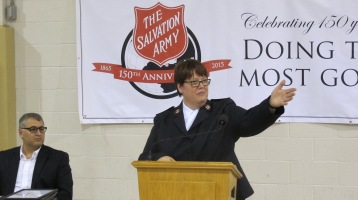 100-Year Anniversary Celebration, Tamaqua Salvation Army, Tamaqua, 10-1-2015 (130)