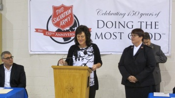 100-Year Anniversary Celebration, Tamaqua Salvation Army, Tamaqua, 10-1-2015 (26)