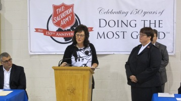 100-Year Anniversary Celebration, Tamaqua Salvation Army, Tamaqua, 10-1-2015 (27)