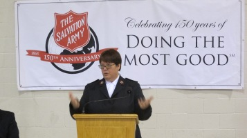 100-Year Anniversary Celebration, Tamaqua Salvation Army, Tamaqua, 10-1-2015 (32)