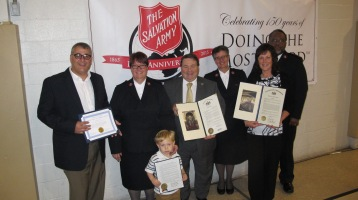 100-Year Anniversary Celebration, Tamaqua Salvation Army, Tamaqua, 10-1-2015 (33)