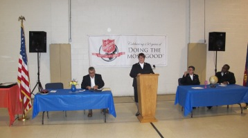 100-Year Anniversary Celebration, Tamaqua Salvation Army, Tamaqua, 10-1-2015 (7)