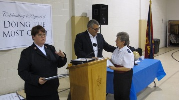 100-Year Anniversary Celebration, Tamaqua Salvation Army, Tamaqua, 10-1-2015 (79)