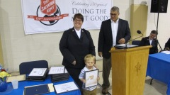 100-Year Anniversary Celebration, Tamaqua Salvation Army, Tamaqua, 10-1-2015 (82)