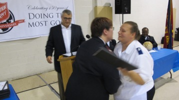 100-Year Anniversary Celebration, Tamaqua Salvation Army, Tamaqua, 10-1-2015 (91)