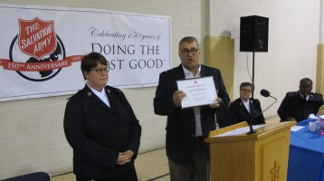 100-Year Anniversary Celebration, Tamaqua Salvation Army, Tamaqua, 10-1-2015 (93)