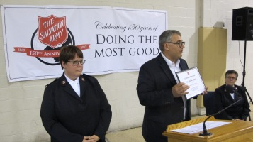 100-Year Anniversary Celebration, Tamaqua Salvation Army, Tamaqua, 10-1-2015 (94)