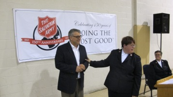 100-Year Anniversary Celebration, Tamaqua Salvation Army, Tamaqua, 10-1-2015 (97)