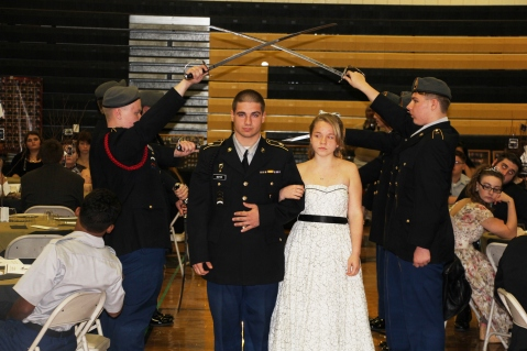 100th Anniversary Celebration of Panther Valley JROTC, PV High School, Lansford, 11-14-2015 (14)