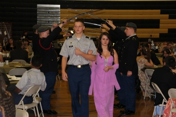 100th Anniversary Celebration of Panther Valley JROTC, PV High School, Lansford, 11-14-2015 (18)