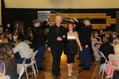 100th Anniversary Celebration of Panther Valley JROTC, PV High School, Lansford, 11-14-2015 (24)