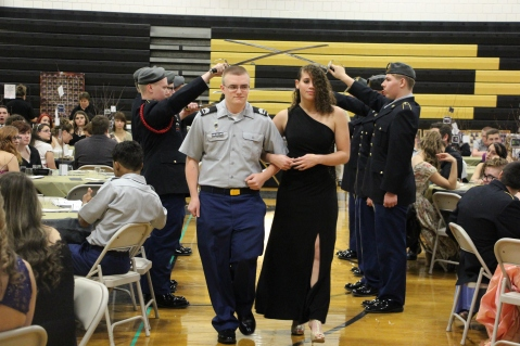 100th Anniversary Celebration of Panther Valley JROTC, PV High School, Lansford, 11-14-2015 (29)