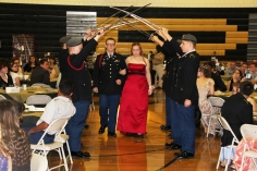 100th Anniversary Celebration of Panther Valley JROTC, PV High School, Lansford, 11-14-2015 (3)