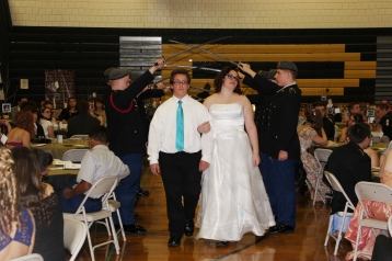 100th Anniversary Celebration of Panther Valley JROTC, PV High School, Lansford, 11-14-2015 (31)