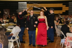 100th Anniversary Celebration of Panther Valley JROTC, PV High School, Lansford, 11-14-2015 (4)