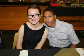 100th Anniversary Celebration of Panther Valley JROTC, PV High School, Lansford, 11-14-2015 (93)