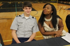 100th Anniversary Celebration of Panther Valley JROTC, PV High School, Lansford, 11-14-2015 (98)