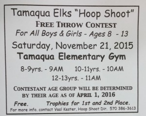 11-21-2015, Tamaqua Elks Hoop Shoot, Ages 8 to 13, Tamaqua Elementary School, Tamaqua (2)
