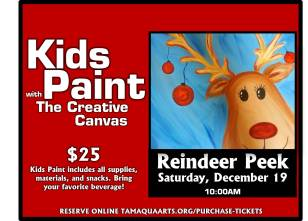 12-19-2015, Kids Paint with the Creative Canvas, Tamaqua Community Arts Center, Tamaqua