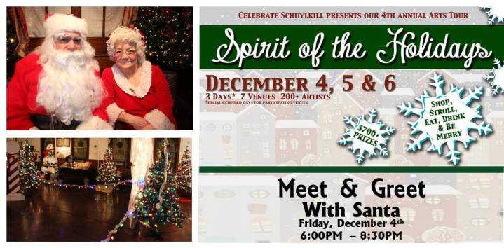 12-4-2015, Meet & Greet with Santa, Tamaqua Community Arts Center, Tamaqua