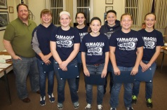 8th Grade Girls Basketball Team Recognized, Tamaqua Borough Council Meeting, Borough H (18)