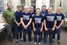 8th Grade Girls Basketball Team Recognized, Tamaqua Borough Council Meeting, Borough H (20)