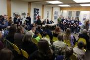 8th Grade Girls Basketball Team Recognized, Tamaqua Borough Council Meeting, Borough H (22)