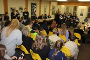 8th Grade Girls Basketball Team Recognized, Tamaqua Borough Council Meeting, Borough H (24)