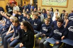 8th Grade Girls Basketball Team Recognized, Tamaqua Borough Council Meeting, Borough H (4)