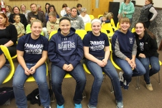 8th Grade Girls Basketball Team Recognized, Tamaqua Borough Council Meeting, Borough H (7)
