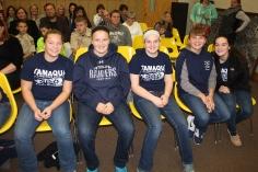 8th Grade Girls Basketball Team Recognized, Tamaqua Borough Council Meeting, Borough H (8)