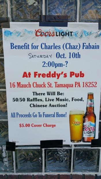Benefit For Charles (Chaz) Fabian, Freddy's Pub, Tamaqua, 10-10-2015 (7)