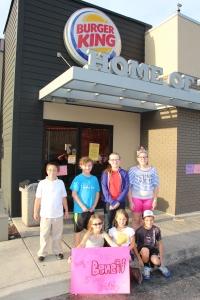 Burger King Fundraiser for West Penn 5th Grade Field Trip, Burger King, Tamaqua, 10-6-2015 (2)