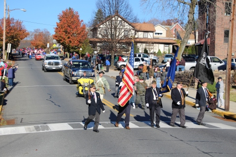 Carbon County Veterans Day Parade, Jim Thorpe, 11-8-2015 (19)